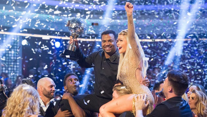"""At the end of the night, Alfonso Ribeiro and Witney Carson were crowned the Season 19 Champions, on the Season Finale of """"Dancing with the Stars,"""" Tuesday, November 25, on ABC."""