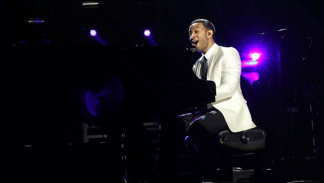 Mireya Acierto, Getty Images NEW YORK, NY - JANUARY 31:  John  Legend performs at the Super Bowl XLVIII Party Hosted By Shape And Men's Fitness at Cipriani 42nd Street on January 31, 2014 in New York City.  (Photo by Mireya Acierto/Getty Images) ORG XMIT: 462104871 ORIG FILE ID: 466328665