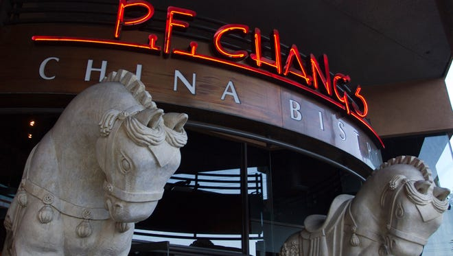 P.F. Chang's China Bistro at the Beverly Center in Los Angeles.