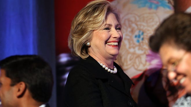Hillary Rodham Clinton attends the Cookstoves Future Summit on Nov. 21 in New York City.