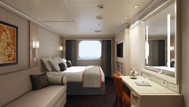 Holland America's 2,650-passenger Koningsdam will have 32 family ocean-view cabins -- a first for the line.