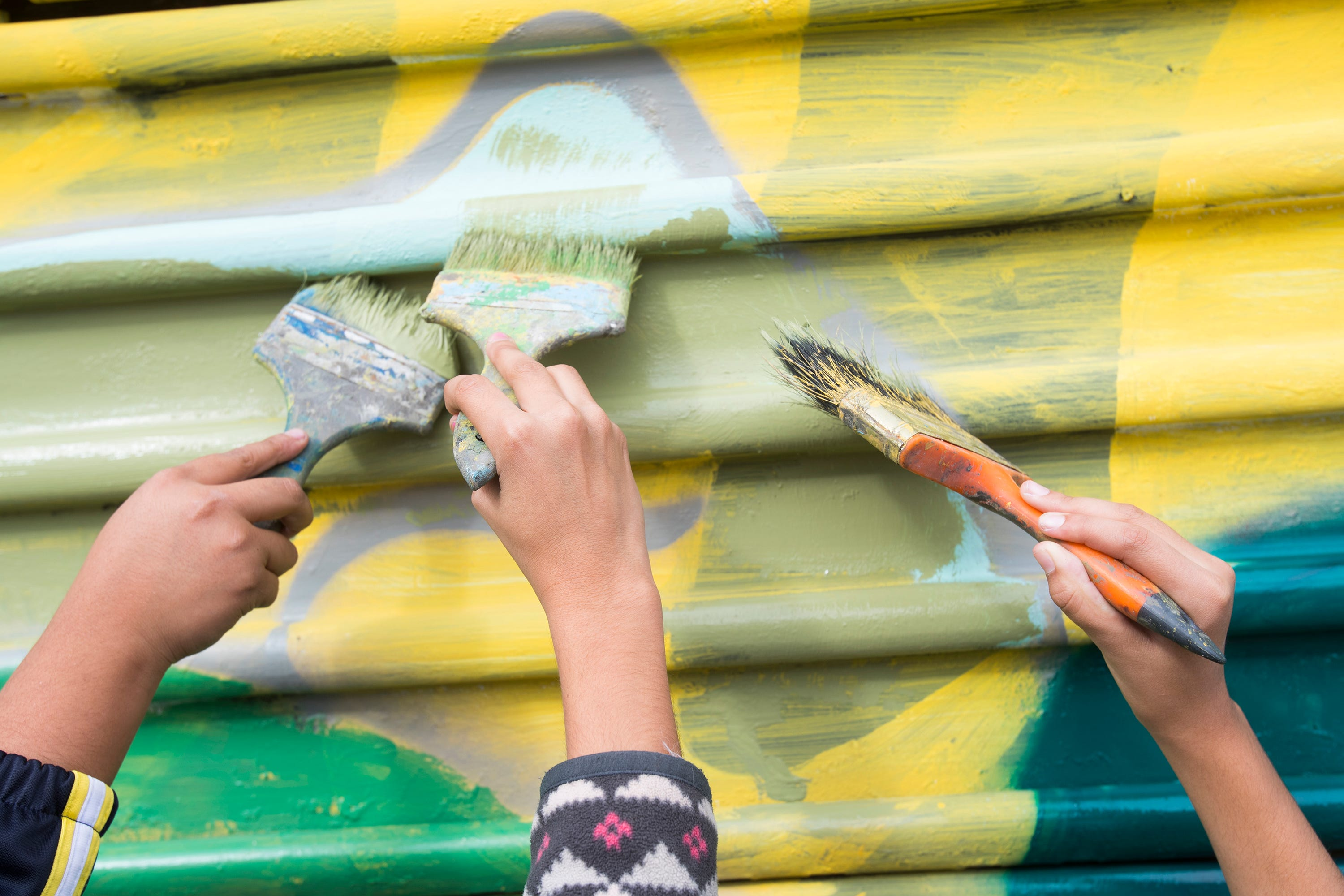 Trump Wants A U0027beautifulu0027 New Mexico Border Wall. This Artist Is Making The  Old One Beautiful.