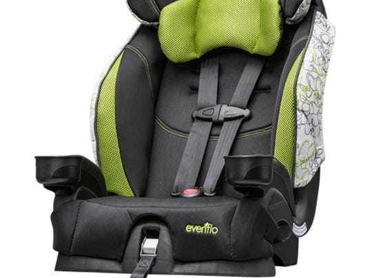 evenflo recalls 1 3 million child seat buckles. Black Bedroom Furniture Sets. Home Design Ideas