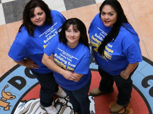 Crime victims advocates photo