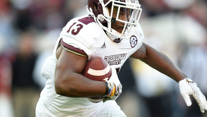 Former Mississippi State running back Josh Robinson was cited for trespassing at the school's football complex  on Tuesday night