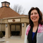 Rabbi Audrey Pollack Friday, February 13, 2015, at Temple Israel, 620 Cumberland Avenue in West Lafayette. Rabbi Pollack, the first female rabbi to head Temple Israel, will take a position at Solel Congregation of Mississauga, Ontario, Canada in July.