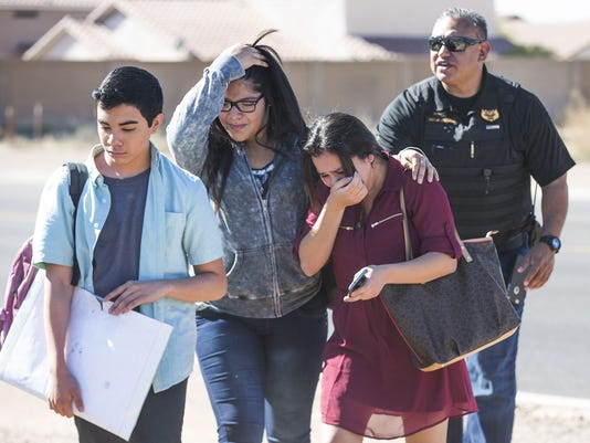 police 2 girls dead in glendale arizona high school shooting