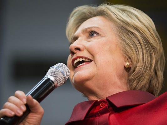 Hillary Clinton rally in Phoenix