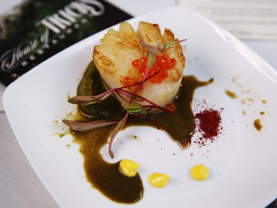Seared Diver Scallop from House of Tricks.