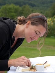 Lauren Gammon is chef–owner of  Nomadic Chef Catering in Bristol.