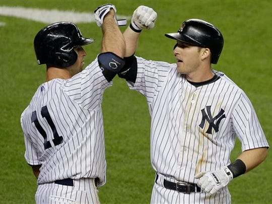 After spending most of the year at second base, Yankees'