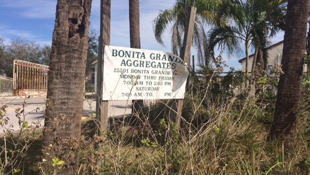 The Bonita Grande mine would be developed for 2,500 home on DR/GR land under an application submitted to the city of Bonita Springs.