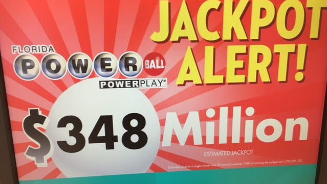 The Powerball jackpot continues to climb.