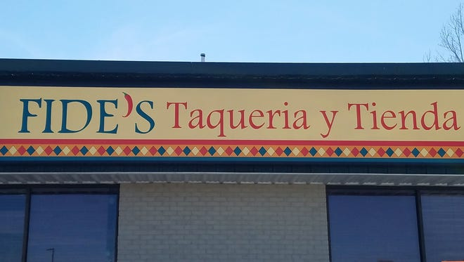 Fide's Taquiera and Tienda is located in the former NW Chophouse building at State Street and 66 in Newburgh.