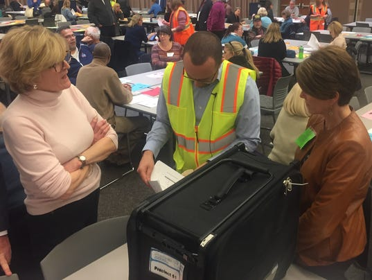 Recount in Oakland County