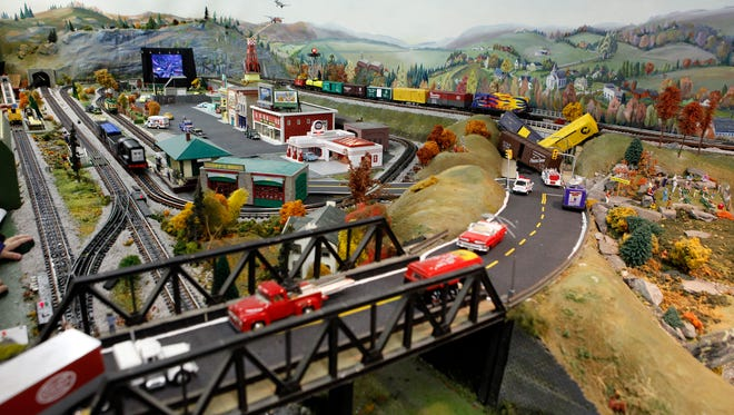 The Edgerton Model Railroad Room is free and open to the public the last Saturday of each month.