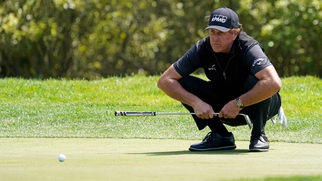Phil Mickelson won in his PGA Tour Champions debut.
