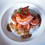 Nothing says Southern decadence like this shrimp and grits from The Brown Hotel