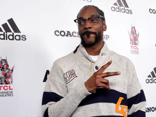 Calvin Broadus Jr., better known as Snoop Dogg, poses