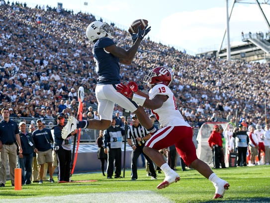 Penn State Nittany Lions wide receiver DaeSean Hamilton