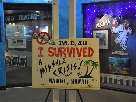 Local residents and tourists in Hawaii were relieved the alert was just a mistake, says Jennifer Trivedi, a researcher with the University of Delaware's Disaster Center.