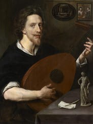 This portrait of Nicholas Lanier, Sidney Lanier's musical