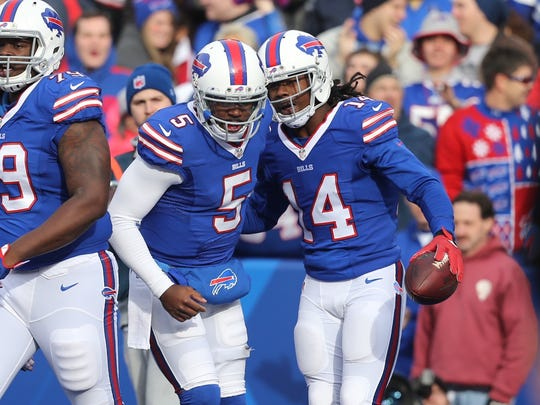 Tyrod Taylor and Sammy Watkins are both going to be