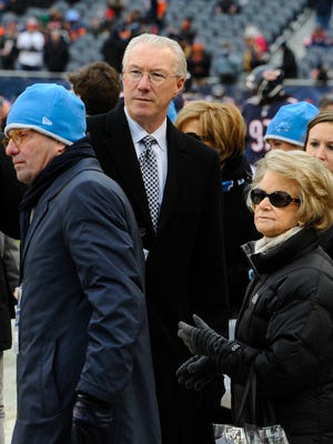 Ernie Accorsi, who helped the Lions in their general manager search said the Ford family, including owner Martha Firestone Ford (right), all supported the hiring of Bob Quinn.