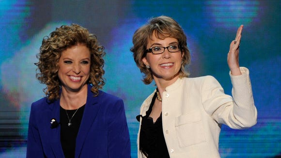Wasserman Schultz defends Giffords ad