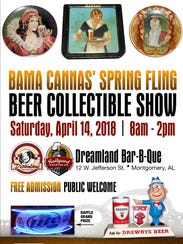 The Bama Cannas Spring Fling Beer Collectible Show