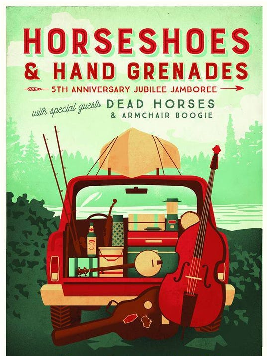 Horseshoes Amp Hand Grenades Concert Is Friday