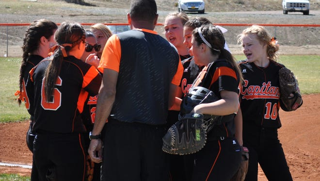 The Capitan LAdy Tiger softball team is the  Class 3A No. 3 team in the state.