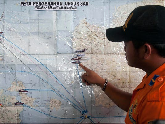 AirAsia flight search and rescue