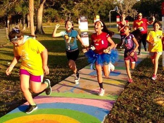Fellsmere Elementary's Girls on the Run members have