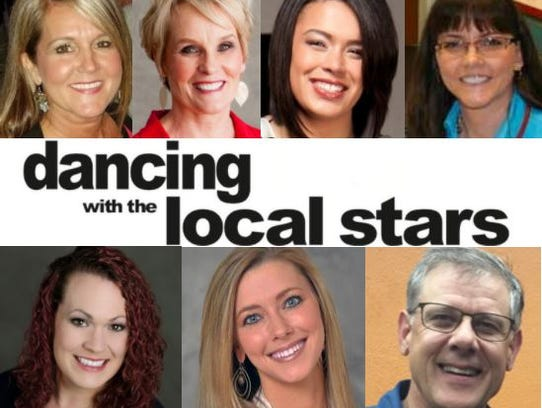 The eighth Dancing with the local stars pairs local