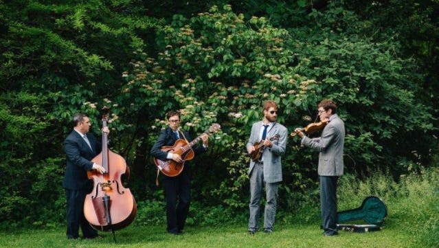 Alt-bluegrass act The High & Wides, featuring former members of Chester River Runoff, will perform at Dogfish Head in Rehoboth Beach at 10 p.m. Saturday, Feb. 11.