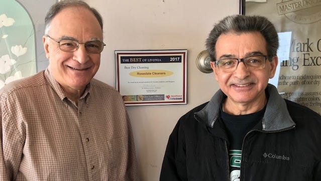 Jack and Bob Karakashian are ending a 56-year run at Livonia's Rosedale Cleaners.
