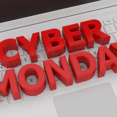 Cyber Monday - 3d concept