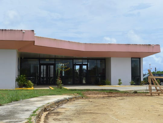 The new Guahan Academy Charter School campus in Tiyan