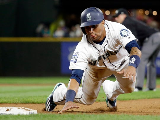 Leonys Martin will spend about a week with the Rainiers