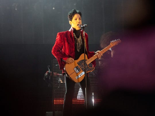 Prince performs at Sziget (Island) Festival on August