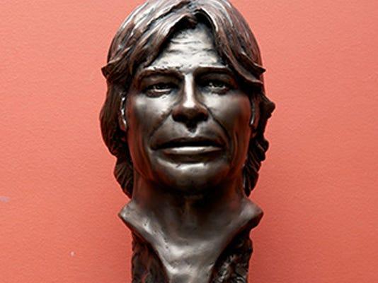 John Denver bust