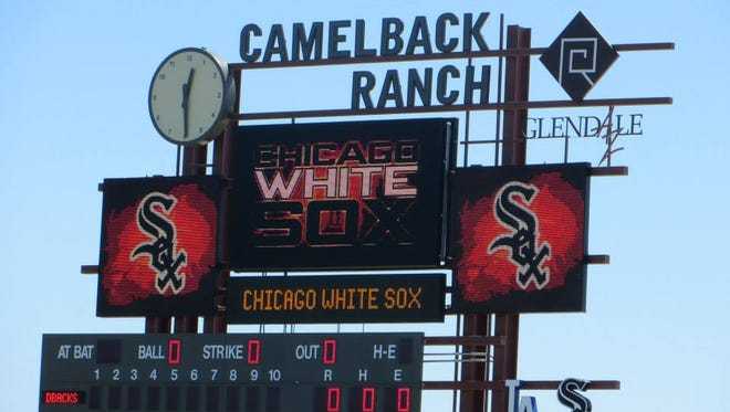 Camelback Ranch. Home of the Chicago White Sox for Spring Training.
