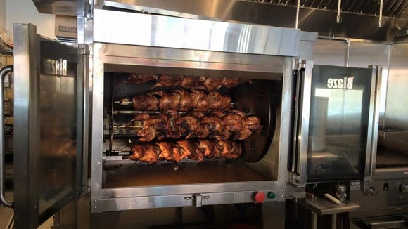 Roasted chicken at Revolution Rotisserie