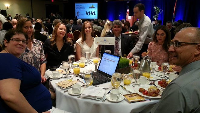 Faculty and Staff of Sierra Prep at the East Valley Mayors' Prayer Breakfast.