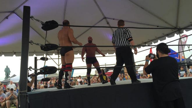 Jersey Championship Wrestling Saturday, May 16 at the Skate and Surf Festival in Asbury Park.