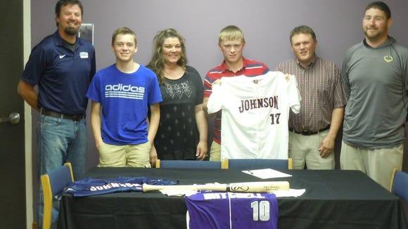 Mitchell's Ryan McKinney has signed to play college baseball for Johnson (Tenn.).