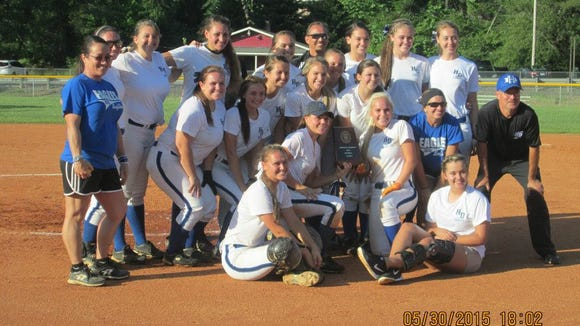 Hiwassee Dam won its first-ever 1-A Western Regional softball championship last week.