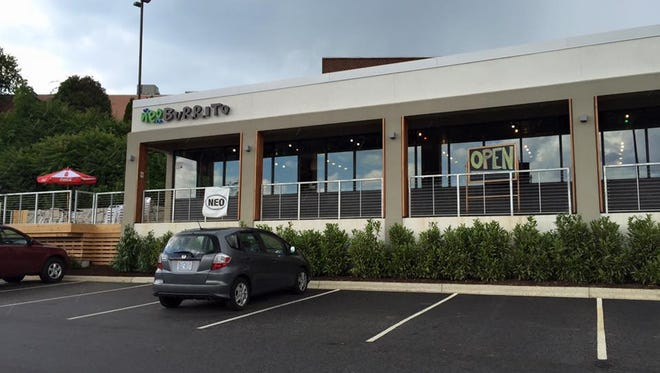 Neo Burrito is now open in East Asheville.