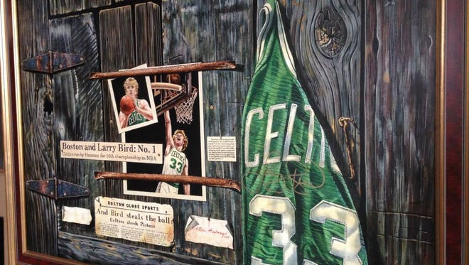 There are 675 pieces of Larry Bird memorabilia up for auction starting Saturday.